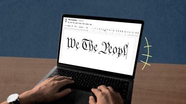A laptop.