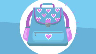 A backpack.