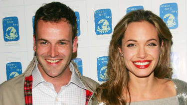 Jonny Lee Miller and Angelina Jolie.