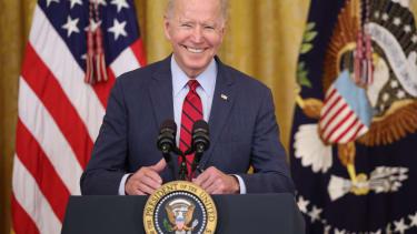 Biden speaks about infrastructure
