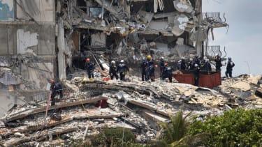 Responders at collapsed Florida condo