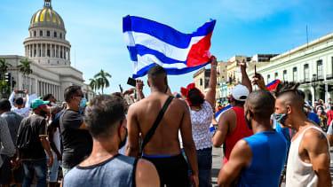 Demonstrations in Cuba