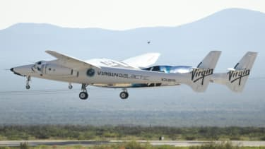 Virgin Galactic space plane