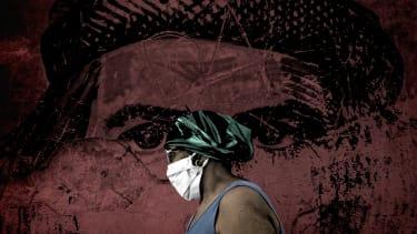 A woman in Cuba.