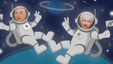 Billionaires in space.