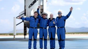 The Blue Origin crew