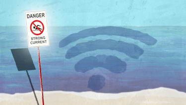 Internet rip current.