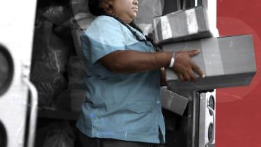 A postal worker.