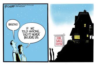 Editorial Cartoon U.S. Housing Prices