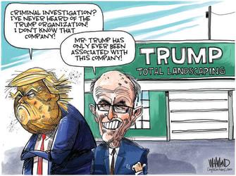 Political cartoon Trump Giuliani