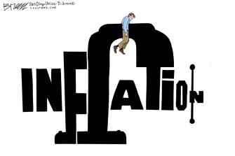 Editorial Cartoon U.S. inflation