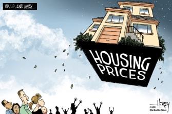 Skyrocketing housing prices