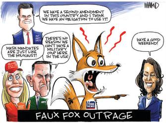 Faux Fox outrage