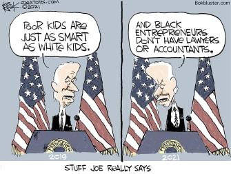 Things Joe says
