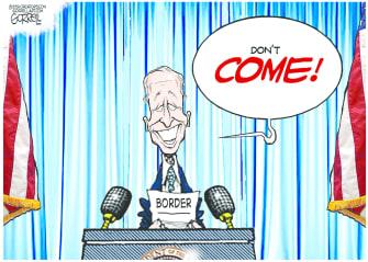 Biden's mixed message