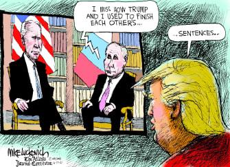 Trump's sad memories