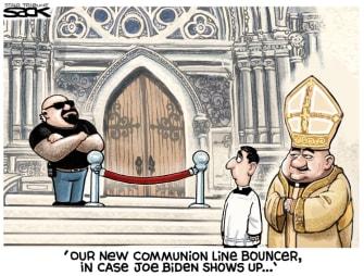 communion bouncer