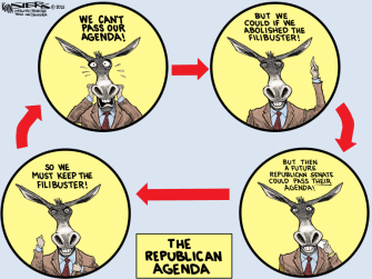 The Democratic cycle