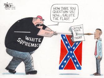 white supremacy vs CRT
