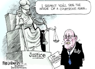 Rudy's cold comfort