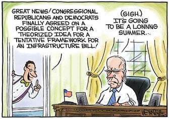 Biden's long summer