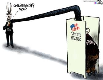 Democratic overreach