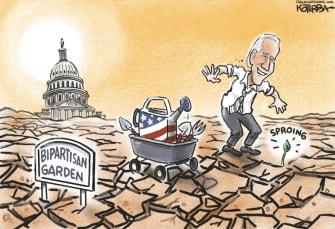 bipartisan garden