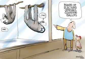 sloths take BoE