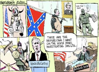 McCarthy picks