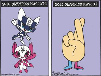 olympics mascot