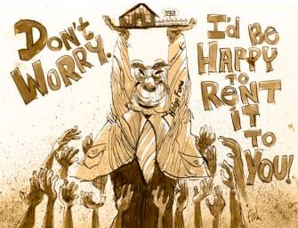 it's a renter's market!