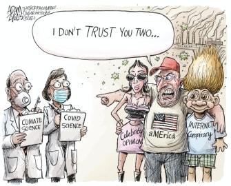 trust from anti-vaxxers