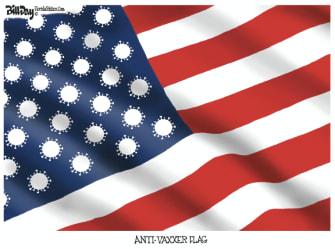 covid flag