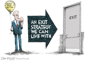 Exit strategy for Joe
