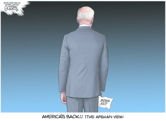 America's back