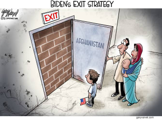 Biden's exit strategy