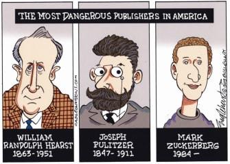 Editorial Cartoon.