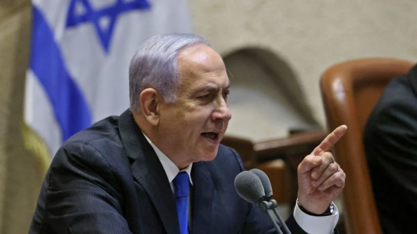Netanyahu goes 'scorched earth,' criticizes Biden in speech ahead of ouster