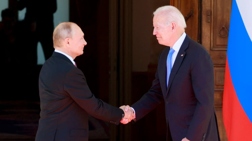 Biden breaks with Obama to call Russia a 'great power'
