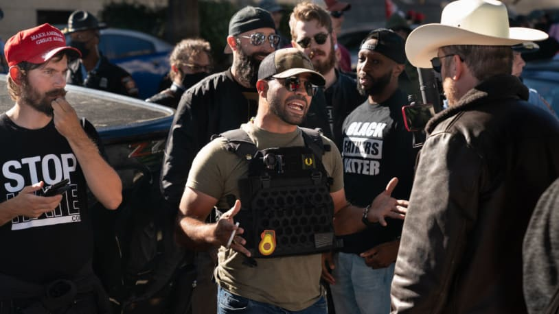 Proud Boys leader says the far-right group is 'hemorrhaging money'