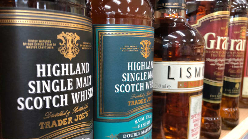 Biden suspends Trump's 25 percent tariff on Scotch whisky, but U.K. tariffs on U.S. bourbon remain