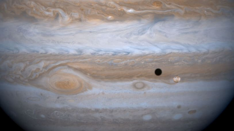 An amateur astronomer spotted a new moon orbiting Jupiter