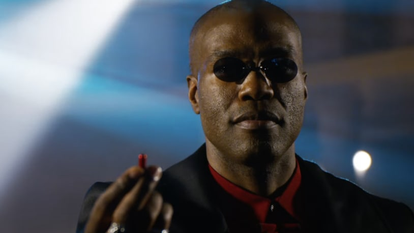 Why isn't Morpheus actor Laurence Fishburne in the Matrix Resurrections trailer? He says he wasn't 'invited.'