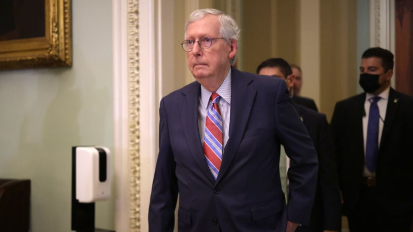 GOP senators reportedly aren't on board with Trump's push to end McConnell's leadership run