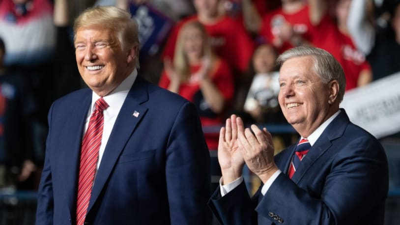 Lindsey Graham told Trump over the summer 'you f---ed your presidency up,' book claims. Trump hung up.