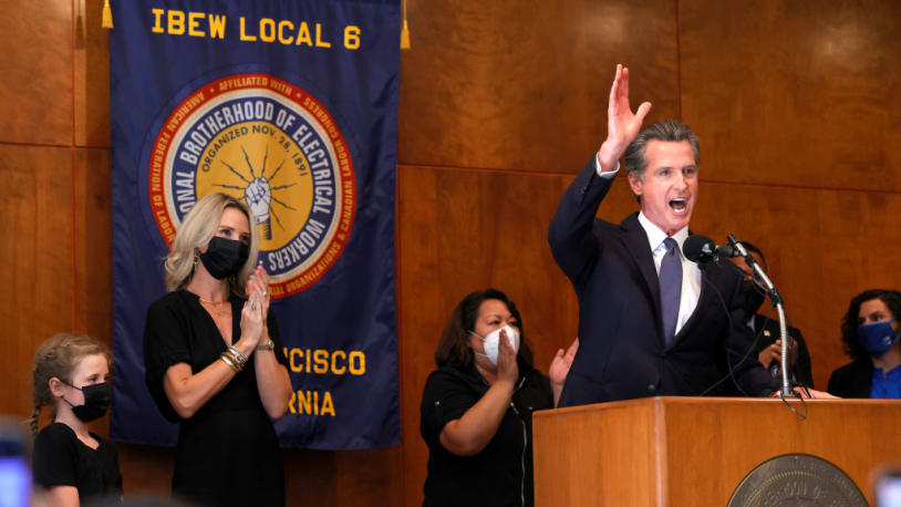 Why Gavin Newsom will likely have to wait for a White House bid