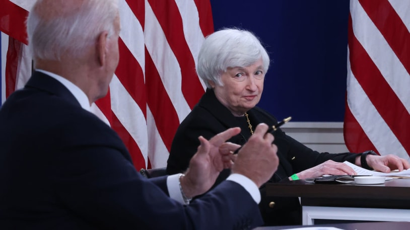 Treasury Secretary Janet Yellen: Expect inflation to improve by 'the middle to end' of 2022