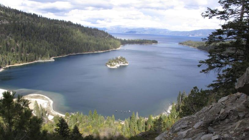 Massive storm brings Lake Tahoe's water levels back above natural rim